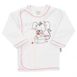 New Baby Kojenecká košilka New Baby Mouse