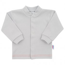 New Baby Kojenecký kabátek New Baby Mouse šedý