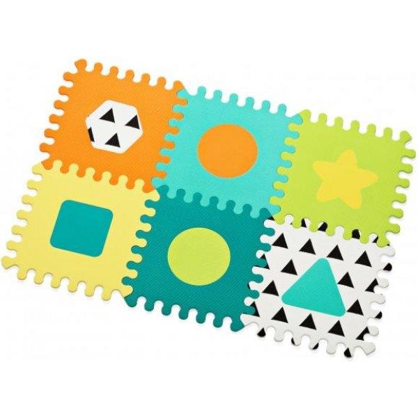 Infantino Puzzle pěnové Tvary