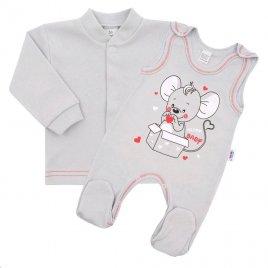 New Baby Kojenecká soupravička New Baby Mouse