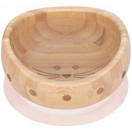 Lässig Bowl Bamboo Wood Little Chums