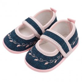 New Baby Kojenecké capáčky New Baby Jeans růžové 0-3 m