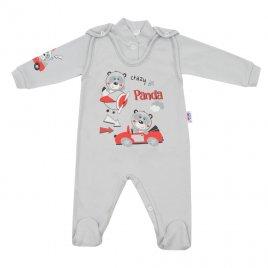 New Baby 2-dílná souprava New Baby Crazy Panda