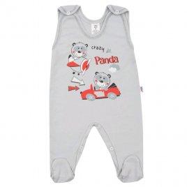 New Baby Kojenecké dupačky New Baby Crazy Panda