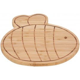 Lässig Breakfast Board Bamboo Wood Garden Explorer