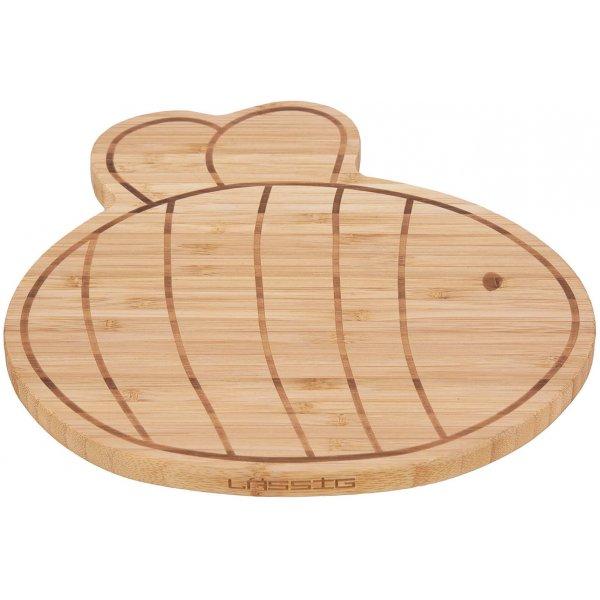Lässig Breakfast Board Bamboo Wood Garden Explorer Bee