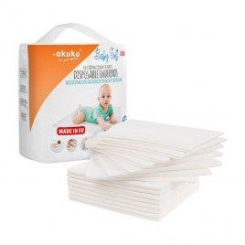 Akuku Jednorázové hygienické podložky Akuku Baby Soft 40x60cm 15ks