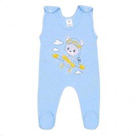 New Baby Kojenecké dupačky New Baby Teddy pilot modré