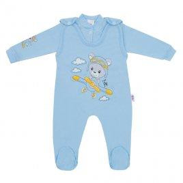 New Baby 2-dílná souprava New Baby Teddy pilot