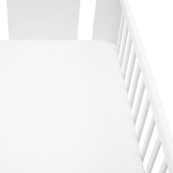 New Baby Jersey prostěradlo do postýlky New Baby 120x60 bílé Bílá