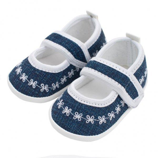New Baby Kojenecké capáčky New Baby Jeans bílé 0-3 m Bílá