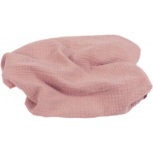 Babymatex Přikrývka bavlněná Muslin 120x80 cm Světle růžová