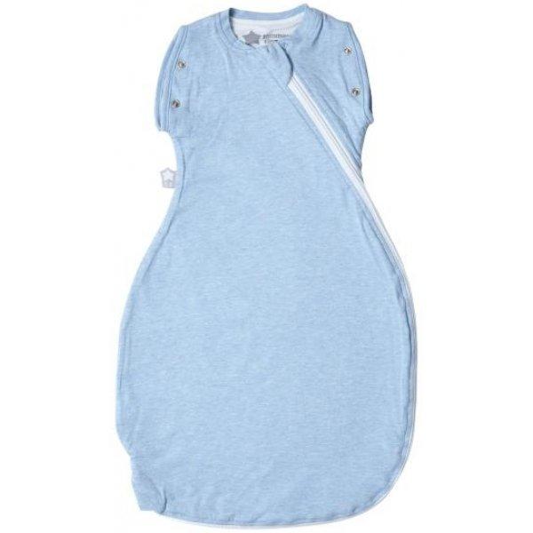 Tommee Tippee Zavinovačka Grobag Snuggle 0-4m letní Blue Marl