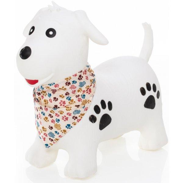 Zopa Hopsadlo Skippy Dog/White