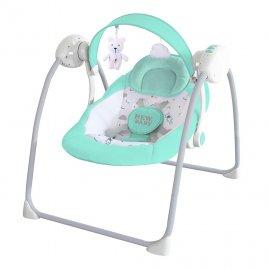 New Baby Dětské houpací lehátko NEW BABY TEDDY Mint