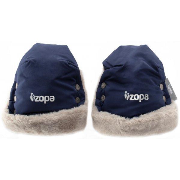 Zopa Zimní rukavice Fluffy Royal Blue