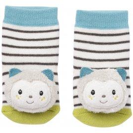 Baby Fehn Chrastící ponožky kočička, Aiko & Yuki
