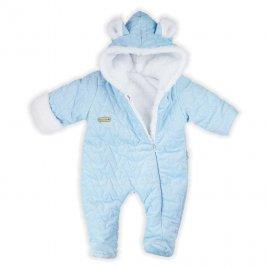 Nicol Zimní kojenecký overal Nicol Kids Winter modrý