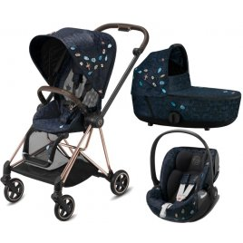Cybex Mios Seat Pack + Mios Lux Carry Cot Fashion + Cloud Z i-Size