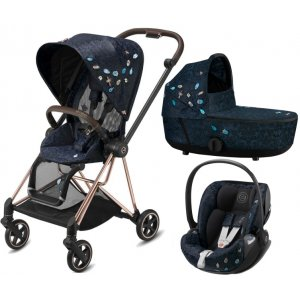 Cybex Mios Seat Pack + Mios Lux Carry Cot Fashion + Cloud Z i-Size 2021 Jewels Of Nature