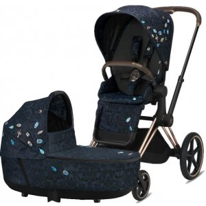 Cybex Priam podvozek, Seat Pack, Lux Carry Cot Fashion 2021 Jewels Of Nature