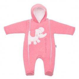 New Baby Zimní kombinézka New Baby Winter Elephant