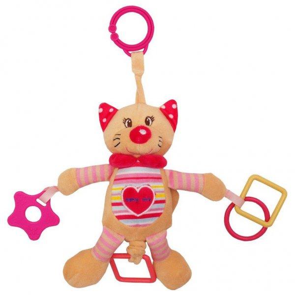 Baby Mix Plyšová hračka s vibrací Baby Mix kočka