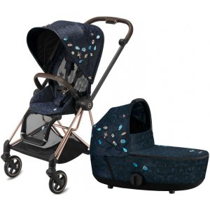 Cybex Mios Seat Pack + Mios Lux Carry Cot Fashion 2021 Jewels Of Nature