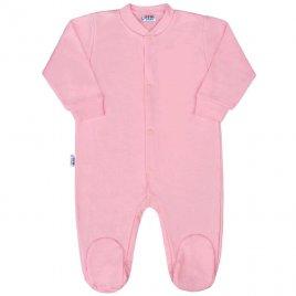New Baby Kojenecký overal New Baby Classic II růžový