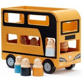 Kids concept Autobus Doubledecker Aiden dřevěný