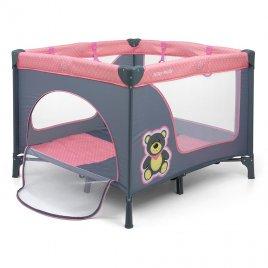 Milly Mally Dětská skládací ohrádka Milly Mally Fun Pink Bear
