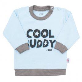 New Baby Kojenecké tričko New Baby With Love modré