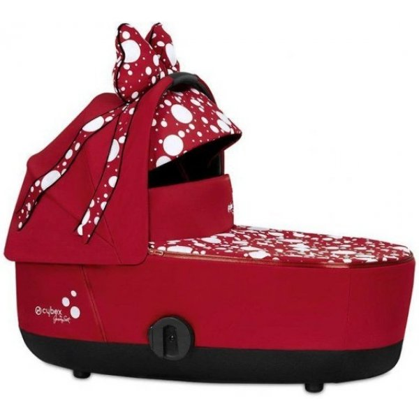 Cybex Mios Lux Carry Cot by Jeremy Scott PETTICOAT 2021 Red