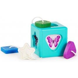 Baby Einstein Hračka senzorická vkládací Match & Grasp Block™ 6m+