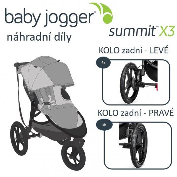 Baby Jogger KOLO zadní SUMMIT X3 LEVÉ