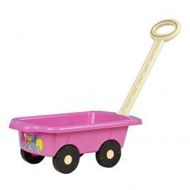 Bayo Dětský vozík Vlečka BAYO 45 cm růžový