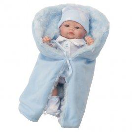 Berbesa Luxusní dětská panenka-miminko Berbesa Barborka 28cm