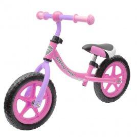 Baby Mix Dětské odrážedlo kolo Baby Mix TWIST růžovo-fialové