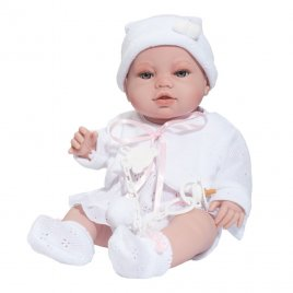 Berbesa Luxusní dětská panenka-miminko Berbesa Terezka 43cm