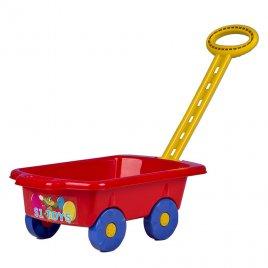 Bayo Dětský vozík Vlečka BAYO 45 cm červený