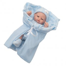 Berbesa Luxusní dětská panenka-miminko Berbesa Sofie 28cm