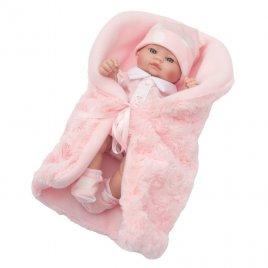 Berbesa Luxusní dětská panenka-miminko Berbesa Anička 28cm