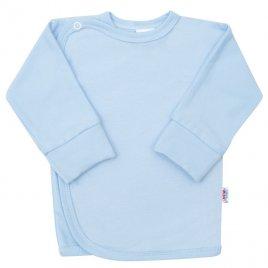 New Baby Kojenecká košilka s bočním zapínáním New Baby světle