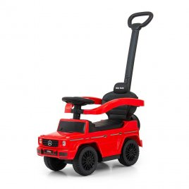 Milly Mally Odrážedlo s vodící tyčí MERCEDES G350d Milly Mally červené