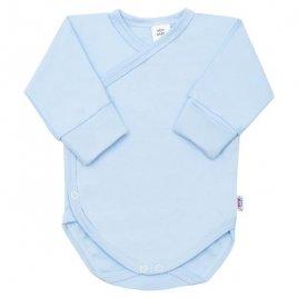 New Baby Kojenecké body s bočním zapínáním New Baby modré