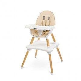 Caretero Jídelní židlička CARETERO TUVA beige