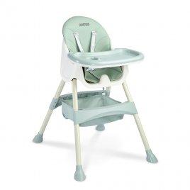 Caretero Jídelní židlička 2v1 CARETERO Bill mint