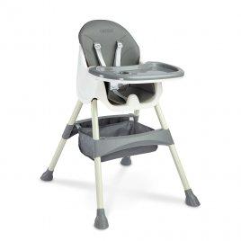 Caretero Jídelní židlička 2v1 CARETERO Bill grey