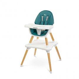 Caretero Jídelní židlička CARETERO TUVA dark green