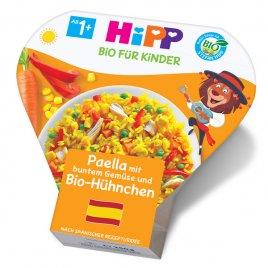 Hipp Příkrm zelenino-masový BIO Paella se zeleninou a kuřecím masem 250g